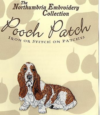 Basset Hound  EMBROIDERED  Pooch Patch