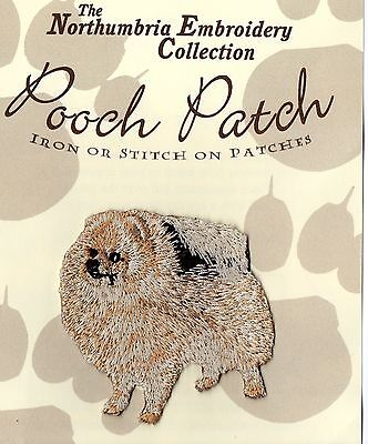 Pomeranian EMBROIDERED  Pooch Patch