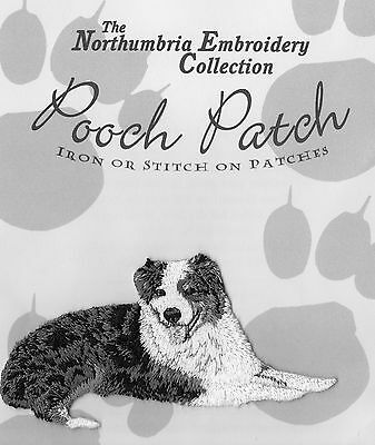 Australian Shepherd EMBROIDERED  Pooch Patch