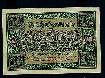 reichsbanknote germany - 6 february 1920 - 20 mark //39
