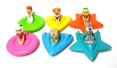 Wendys 1989 Cartoon The Jetsons Character Set OF Six