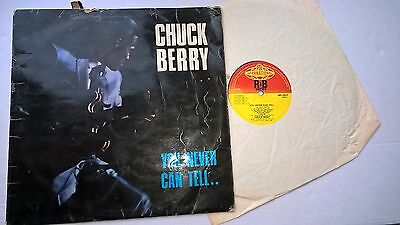 CHUCK BERRY - You never can tell..  - U.K. PYE 1st Press VINYL LP