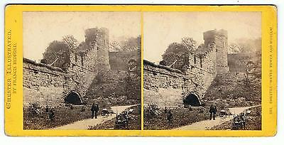 Stereoview - Chester Illustrated By Francis Bedford - 333 Water Tower & Museum