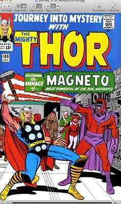 The Mighty Thor + Journey into Mystery + Annuals on DVD