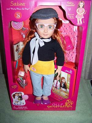 """Our Generation SABINA 18"""" Deluxe Doll New"""