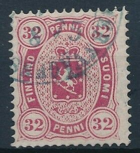 [31472] Finland 1875/81 Good RARE stamp Perforation 14x13,5 Very Fine used