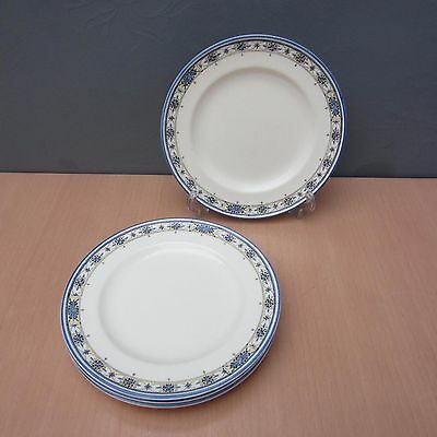 4 ROYAL WORCESTER CROWN WARE 7 inch SIDE PLATES