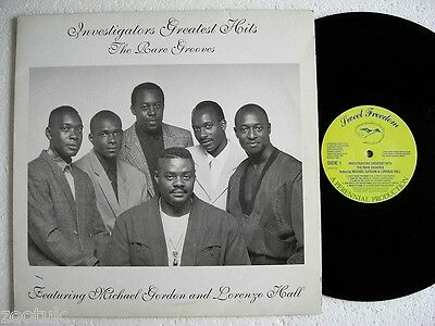 INVESTIGATORS * The Rare Grooves SWEET FREEDOM LP 1991