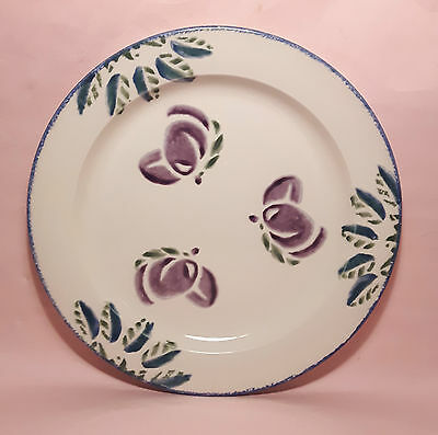 Poole Pottery Dorset Fruits Dinner Plate - Plums