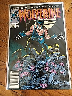 Wolverine #1 (Marvel 1988) Bagged and Boarded