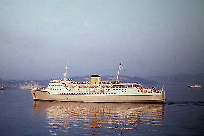 Own Photo Of Hml'S Egnatia Arriving Corfu 1971