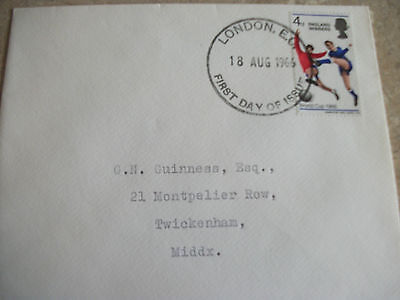 England Winners 1966 First Day Cover