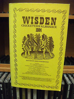 Wisden 1994 Cricketers Almanack Softback