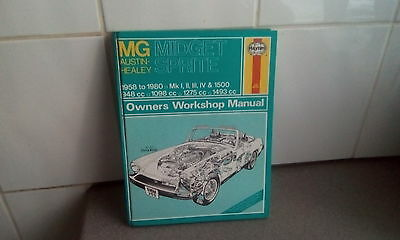 MG midget ,sptite workshop manual by haynes