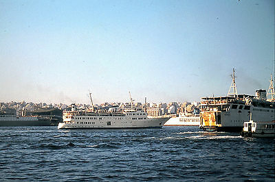 Own Photo Of Greek Ship Agios Georgios Piraeus 1979