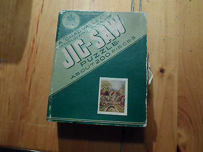 1X Vintage JIGSAW Puzzle 200 Pieces Made In Great Britain Chad Valley  Jig-saw