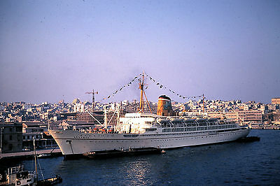 Own Photo Of Adriatica'S Ausonia At Piraeus In 1969