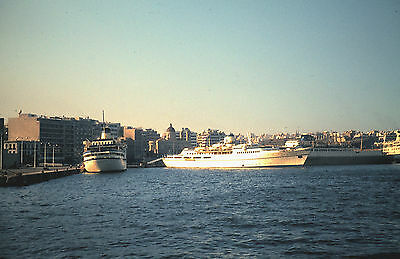 Own Photo Of Cruise Ship City Of Andros At Piraeus 1979