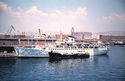 Own Photo Of Ferry Delos At Piraeus 1975