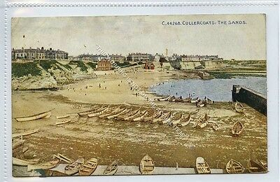 (Lc9373-463) CULLERCOATS, The Sands, 1914,  Used G-VG