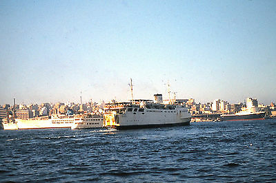 OWN PHOTO OF RMT's ARTVELDE AS ALGAION AT PIRAEUS IN 1979