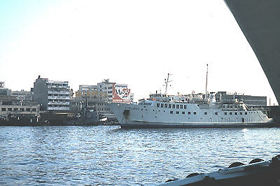 Own Photo Of The Ferry Kyklades At Piraeus In 1979