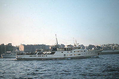 Own Photo Of Greek Ferry Mykhnai At Piraeus In 1979