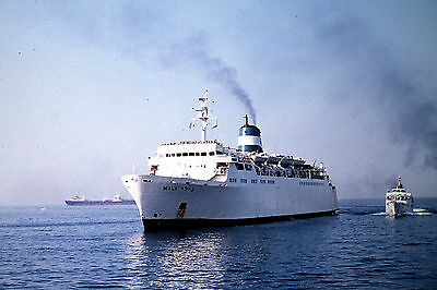 Own Photo Of Nili Arriving At Piraeus In 1969