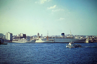 Own Photo Of Olympia, Brennero & Hermes At Piraeus 1962