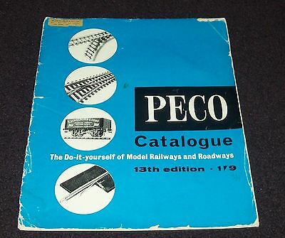 PECO CATALOGUE, The Do-It-Yourself of Model Railways and Roadways, 13th Edition