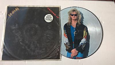 "DEF LEPPARD - Heaven Is - No'd 324  Picture Disc 12"" Single"
