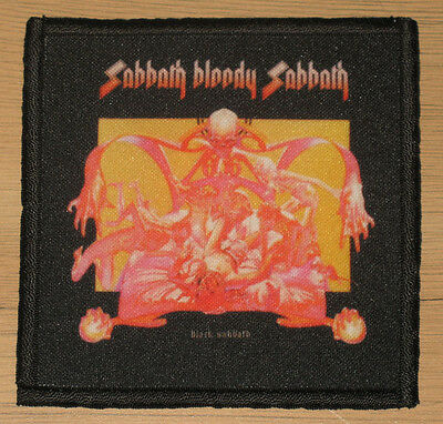 "BLACK SABBATH ""SABBATH BLOODY SABBATH"" silk screen PATCH"