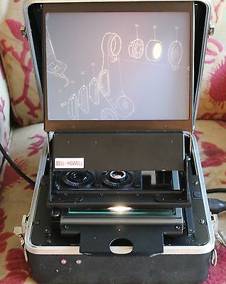Bell And Howell Microfiche Reader  Ideal For Genealogy