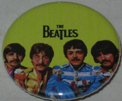 """Beatles """"Sgt Peppers Uniforms"""" Pin 1.25"""" New"""