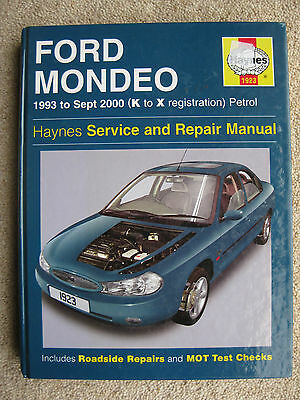 Ford Mondeo  Haynes Manual  FREE POSTAGE