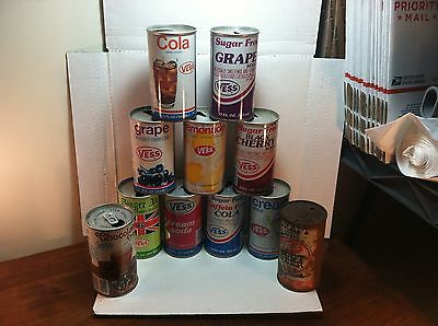 lot of 11 Vess soda cans Maryland Heights, Missouri Cream Ginger Ale Grape Cola