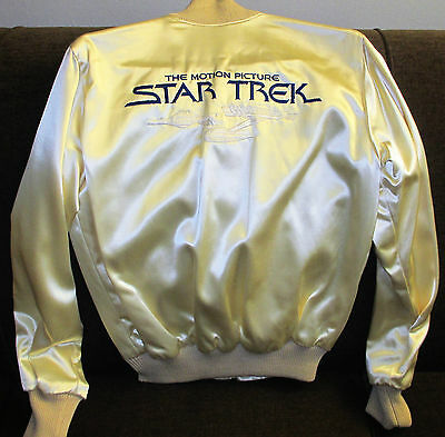 Star Trek: The Motion Picture~1979 Movie~Rare Special Effects Sfx Crew Jacket