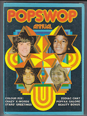 Popswop Annual 1974 Unclipped Bowie Slade Marc Bolan The Sweet Nr Mint Inside