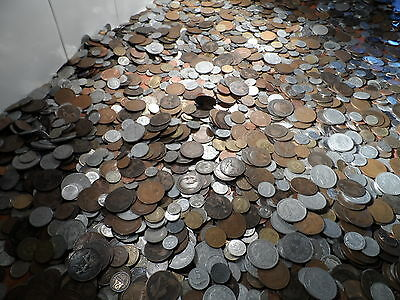 100 British and World Coins.from 1800 to 1900s 100 COIN bulk lots
