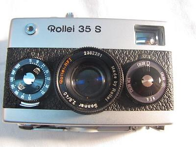 Vintage 35MM CAMERA ROLLEI 35S SONNAR 2,8 40mm LENS SINGAPORE