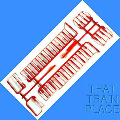 CHESSIE GP35 HANDRAIL SET (Plastic Version not for Blue Box)  Athearn - HO SCALE