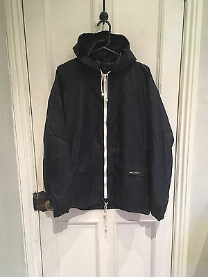 Vtg 80s Navy Blue Peter Storm Cagoule Jacket Medium M Casuals