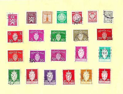 OFFICIAL STAMPS MIxed Countries