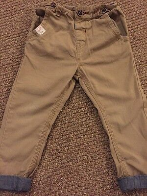 Boys Next Chino's Size 18-24 Months