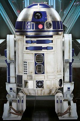 STAR WARS EPISODE VII Poster - R2-D2 - NEW STAR WARS MOVIE POSTER PP33843