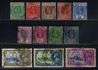 NIGERIA  GV  COLLECTION  TO  2s6d   L30a