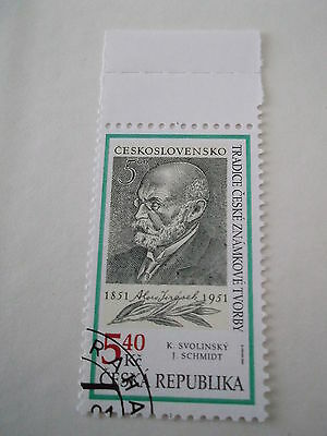 2001 Czech Republic Czech Stamp Production used sg288