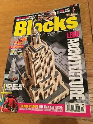 Lego BLOCKS Mag Issue 21 Lego Building Architecture Police July 2016