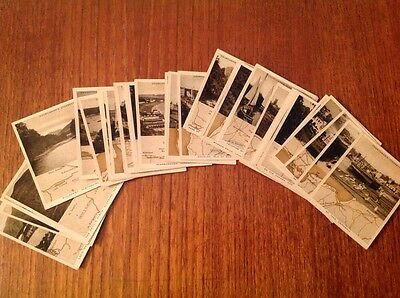 Churchman Holiday In Britain Cigarette Cards