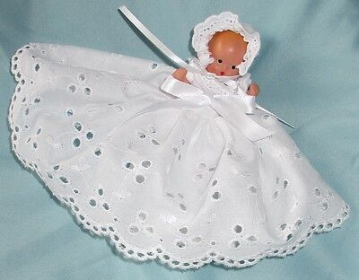 NANCY ANN Storybook baby doll, bisque porcelain, Mid-century vintage COLLECTABLE